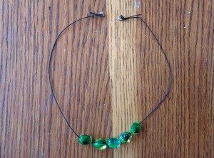 5 Radiant Bead Necklace